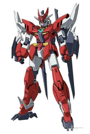 Gundam Build Divers ReRISE Mecha Visual - Marsfour Gundam