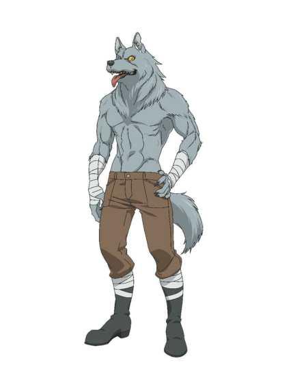 Hataage Kemonomichi Anime Character Visual - Wolfgang