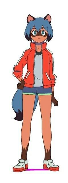 Brand New Animal Character Visual - Michiru Kagemori