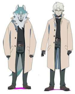 Brand New Animal Character Visual - Shirou Ogami