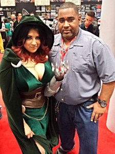NYCC 2013 Friday - The Doomkitty and I