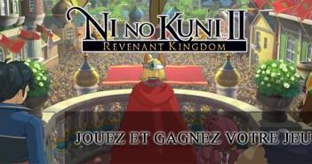 Ni no Kuni II : jouez et gagnez votre jeu !