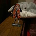 Anime Kakegurui Figure Jabami Yumeko Acrylic Stand Character Model Plate Holder Desktop Decoration