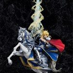 Fate Stay Night Altria Pendragon Lily Lancer Uhlan Saber Horse Riding Figure