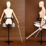 Attack On Titan Shingeki no Kyojin Sword Wearable Machine Cosplay Motion Device