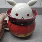 Klee Mug Water Cup Hot Game Genshin Impact Cosplay Props Anime Accessories Project DIY Bomb Coffee Cup