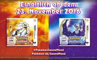 Pokemon Sonne und Mond Cover