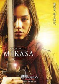 Kiko Mizuhara como Mikasa