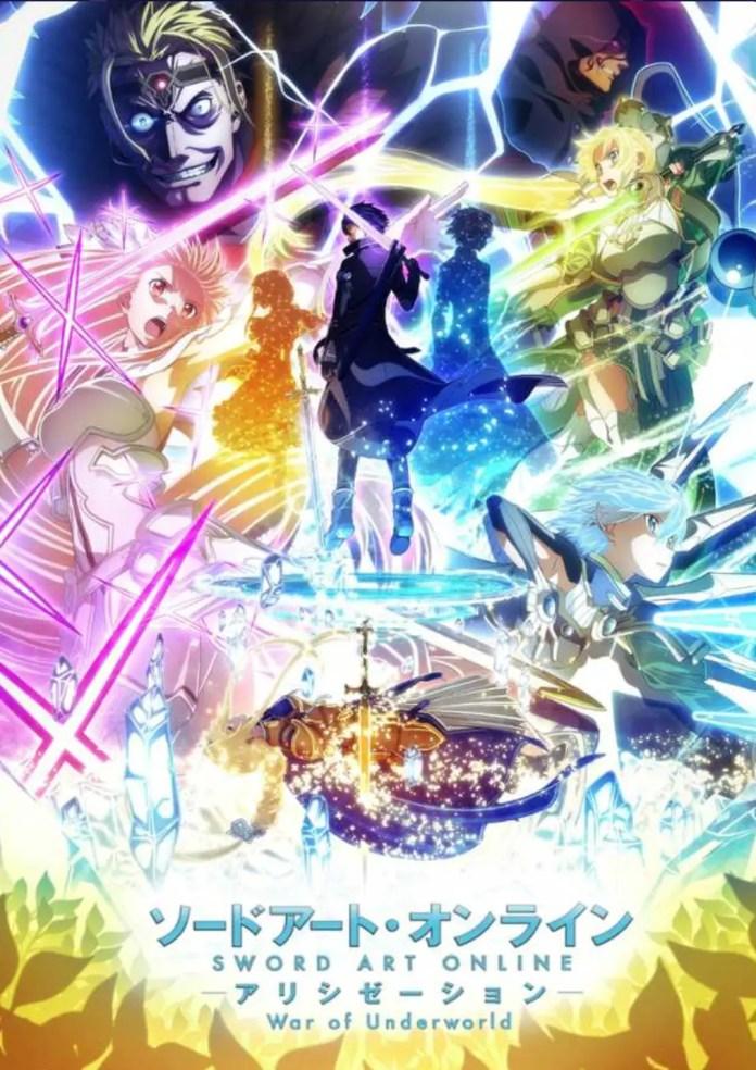 Sword Art Online: Alicization War of Underworld Cour 2 Key