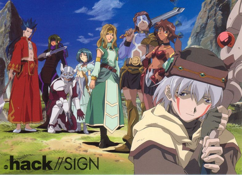 Image result for .Hack//Sign
