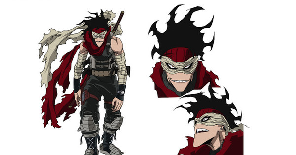 My Hero Academia Anime Reveals Character Design For Stain News Anime News Network
