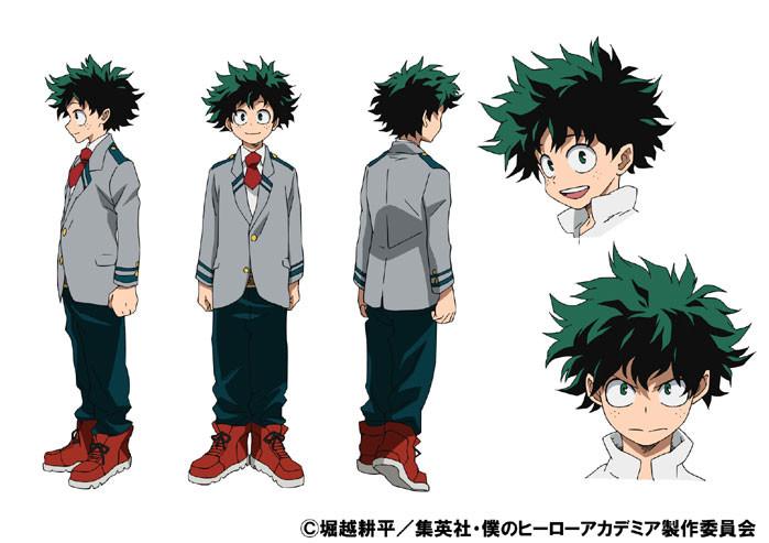 аниме Boku No Hero Academia Идзуку
