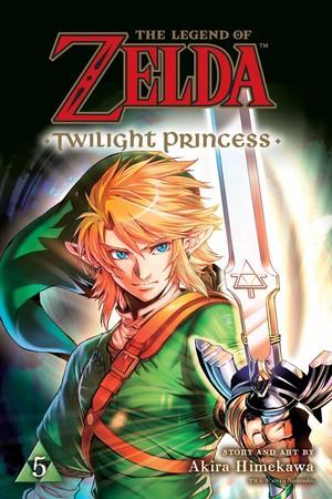Legend of Zelda: Twilight Princess Manga Ranks #4 on U.S. Monthly Bookscan July List 2