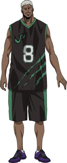 Tetsu Inada sebagai Jason Silver, center Jabberwock