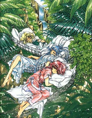 Magic Knight Rayearth Picture Gallery