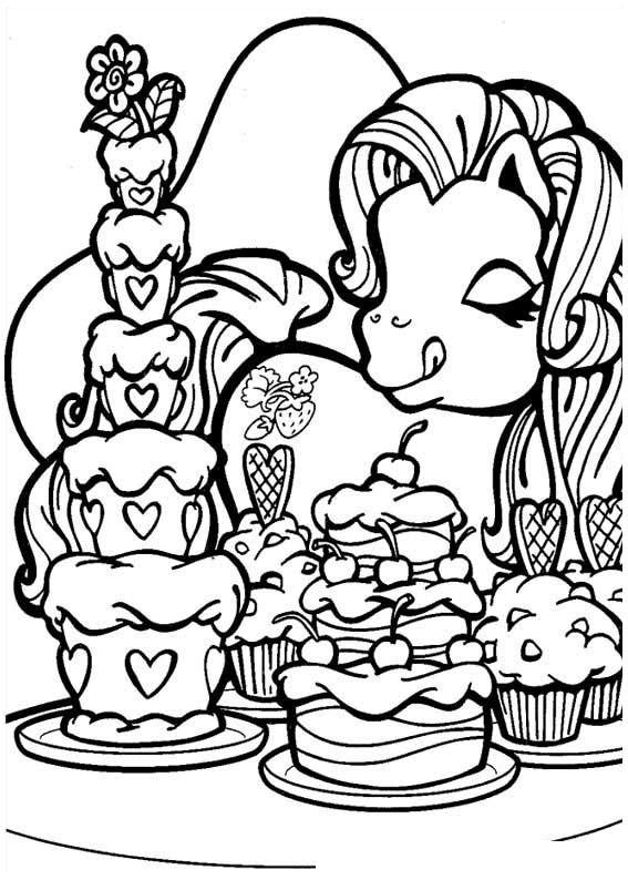 my little pony ausmalbilder # 69
