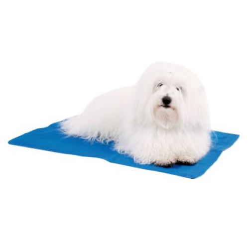 tapis refrigerant impermeable cool mat bleu show tech