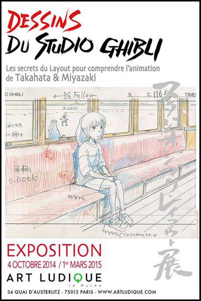 Exposition Dessins Du Studio Ghibli : exposition, dessins, studio, ghibli, Ghibli, Secrets, Layout, Comprendre, L'annimation, Musée, Ludique, Boggans