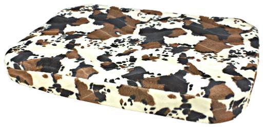 coussin matelas vache dehoussable chien chat 105 x 70 x 9 cm