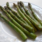 Roasted Asparagus with Hoisin Glaze