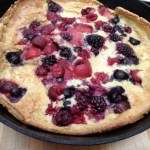 Dutch Baby with Mixed Berries