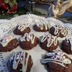 Chocolate Fudge Cookies with Peppermint