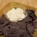 Roasted Green Chile and Goat Cheese Dip