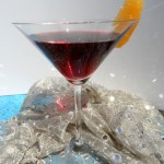 Moroccan Pomegranate Cosmo with Cardamom