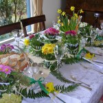Spring Luncheon Table