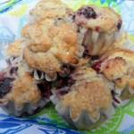 Bumbleberry-Cherry Muffins