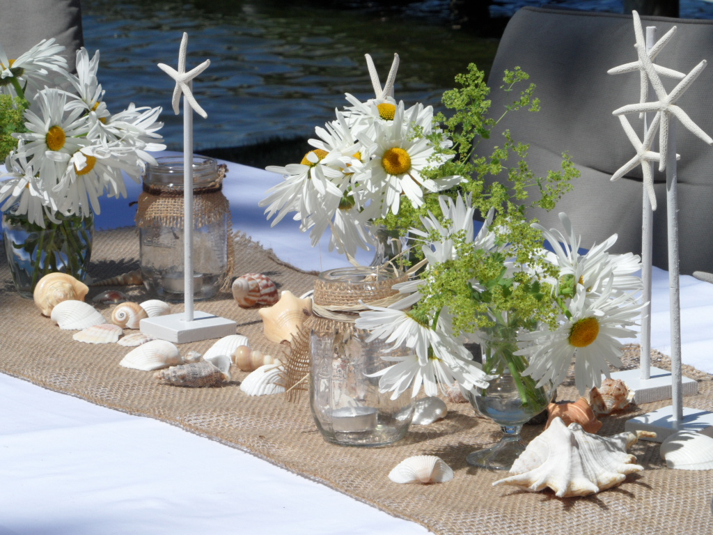 Beach theme table decorations an inspired kitchen Decoration table mer