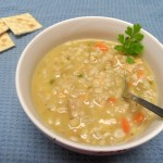 Creamy Chicken and Barley Soup
