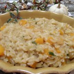 Roasted Butternut Squash and Sage Risotto