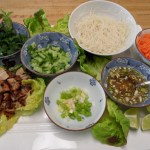 Vietnamese Chicken and Lettuce Wraps