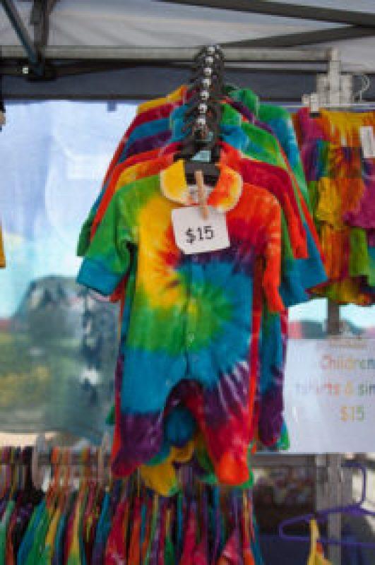 Tie Dye Crazy Baby Onesie at the Cleveland Markets, Brisbane QLD Australia 20150802-VPR00342.jpg