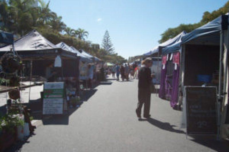 Cleveland Markets, Brisbane SE Australia