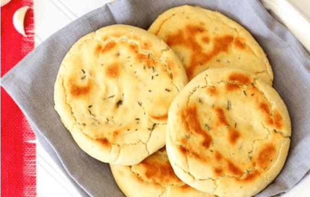 Recipe: Gluten Free Rosemary and Garlic Flatbread