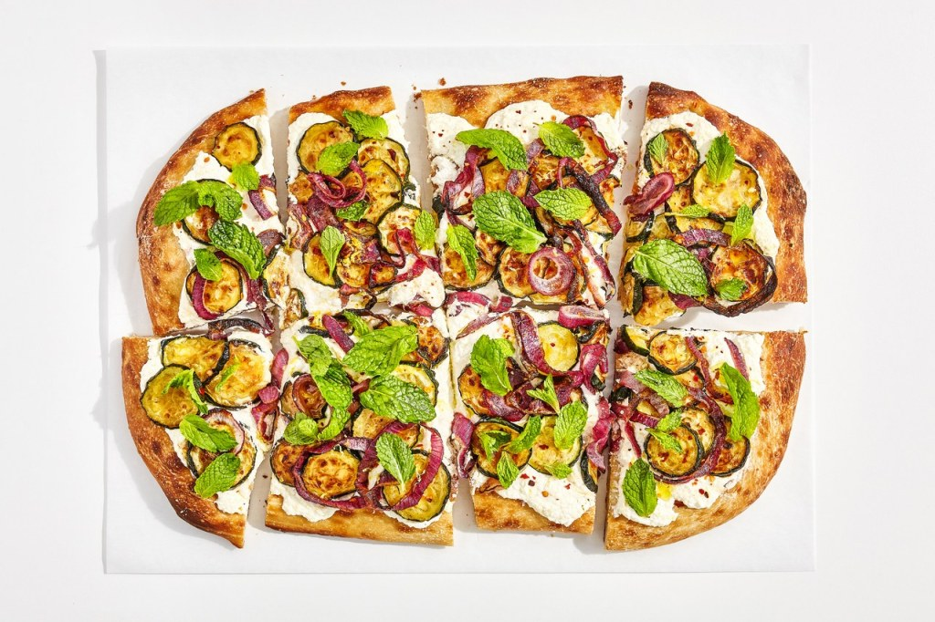 Caramelized Zucchini Flatbread