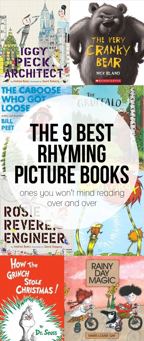The Best Rhyming Picture Books