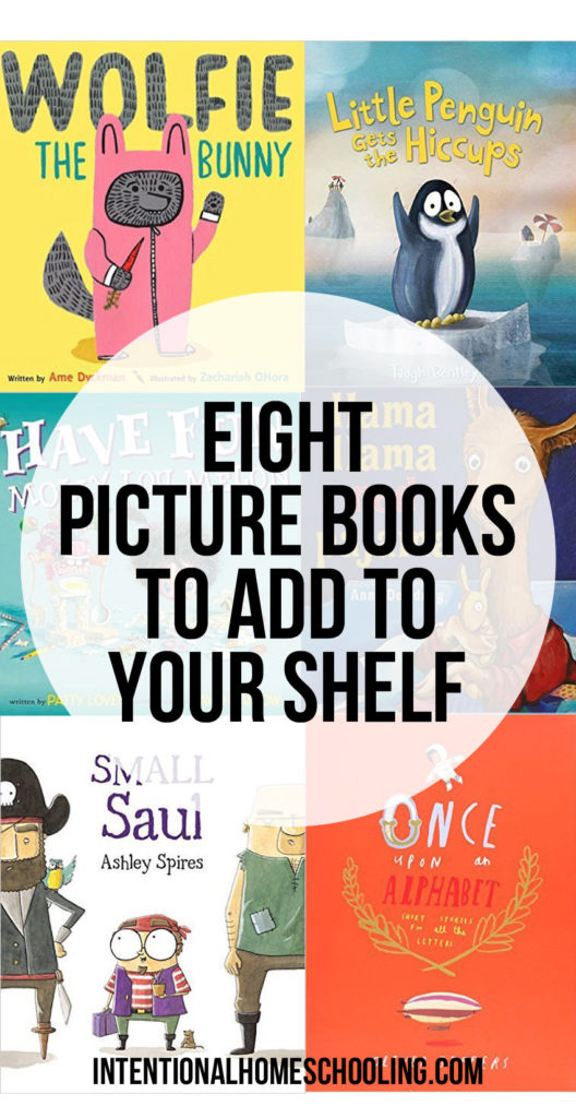 Eight Picture Books to Add to Your Shelf