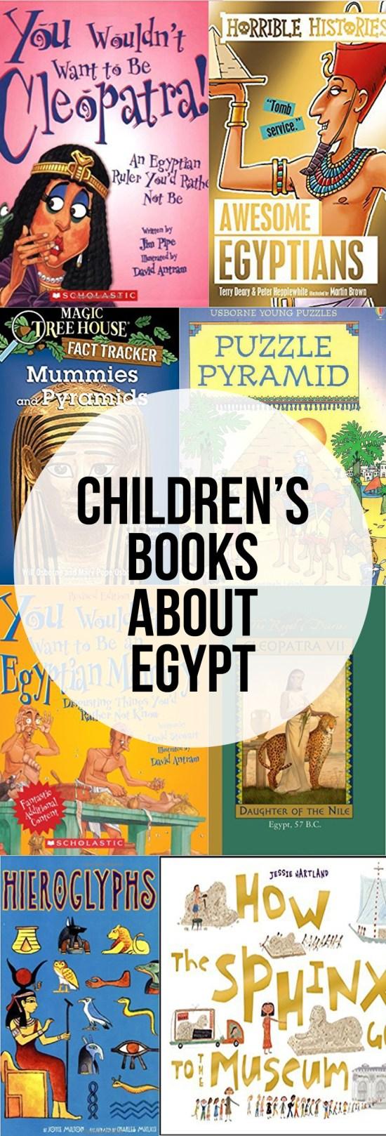 Children's Books About Egypt