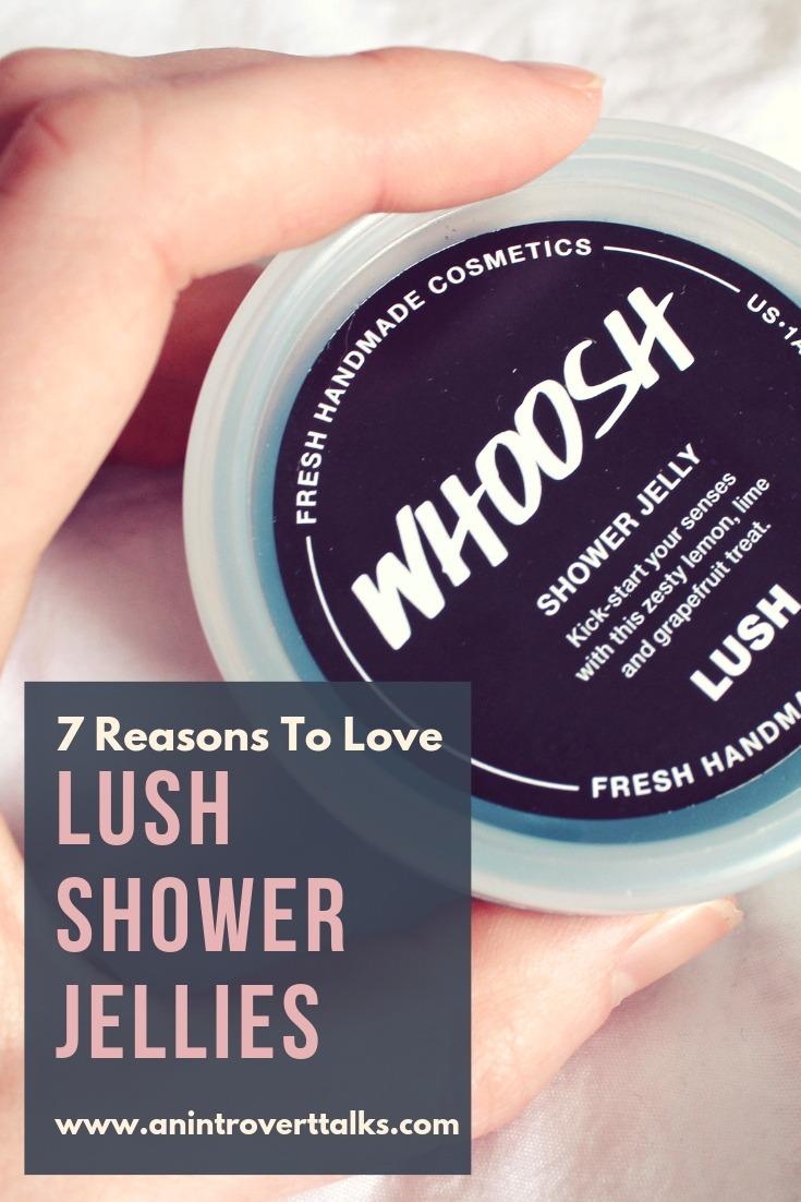 7 Reasons to Love Lush Shower Jellies