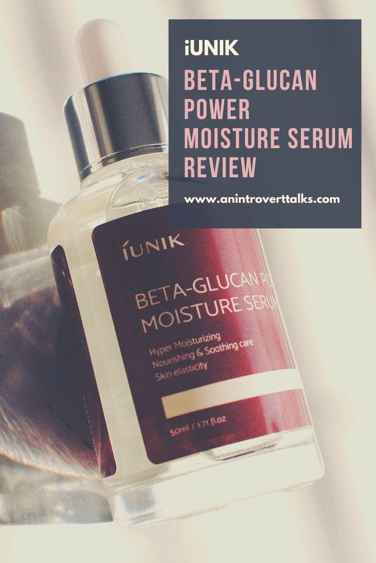 iUNIK Beta-Glucan Serum Review