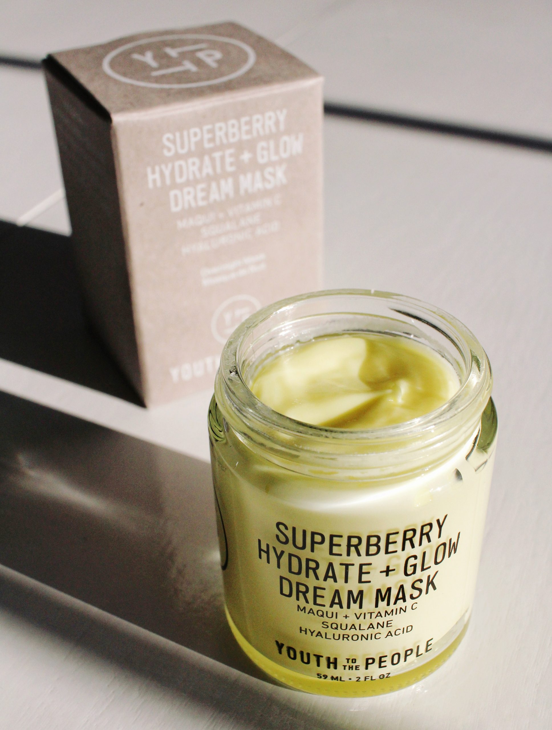Superberry Hydrate + Glow Dream Mask Review