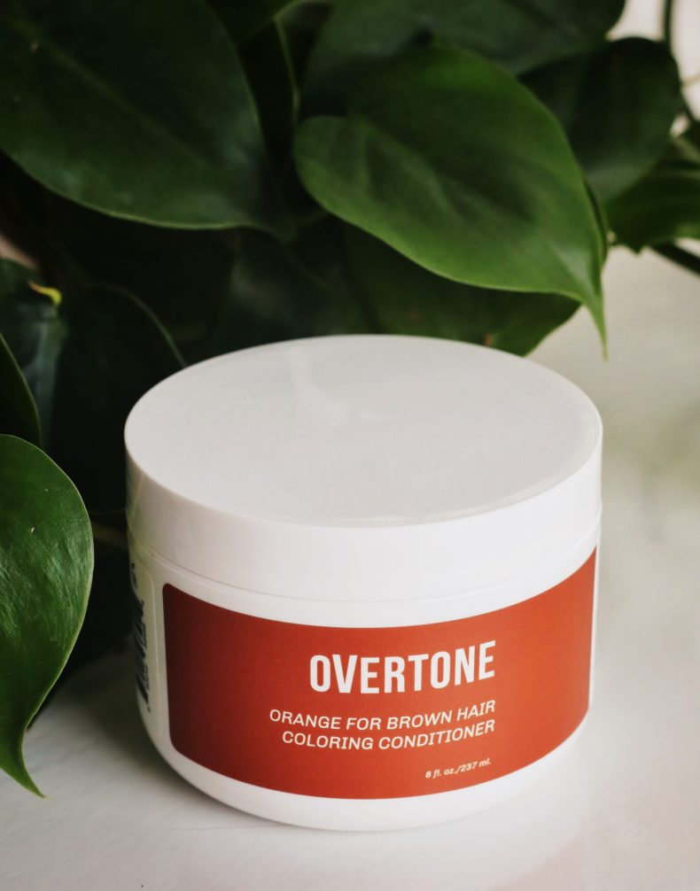 Overtone Orange for Brown Hair Review