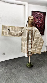 Paper Clothing Crucification