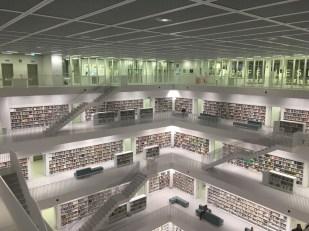 Stuttgart, Stadtbibliothek, www.anitaaufreisen.at