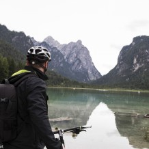 Toblacher See, Radweg Höhlensteintal, Lange Weg der Dolomiten, Südtirol, www.anitaaufreisen.at
