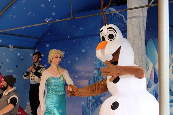 frozen al fantastico mondo del fantastico al castello di lunghezza