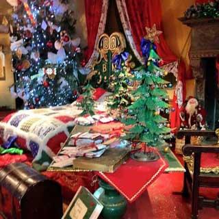 Camera di Babbo Natale al Castello di Lunghezza